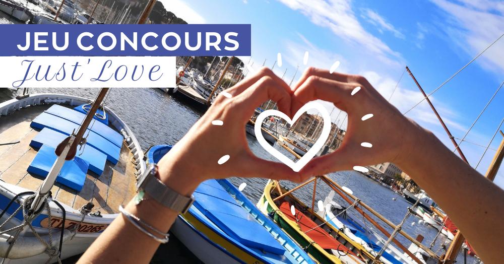 JEU CONCOURS JUST'LOVE